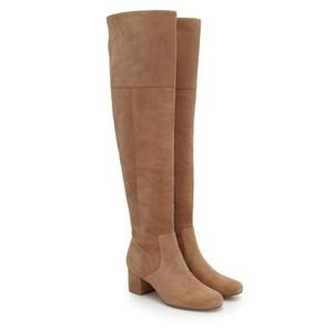 🔥 Sam Edelman Oatmeal Over the Knee Boots